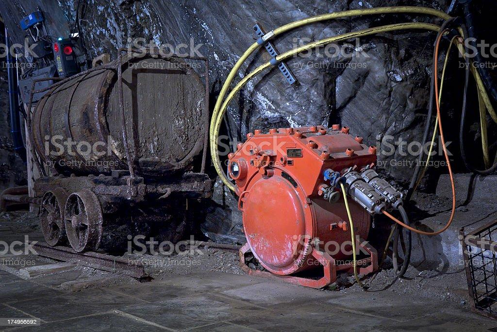 Wieliczka Salt Mine stock photo
