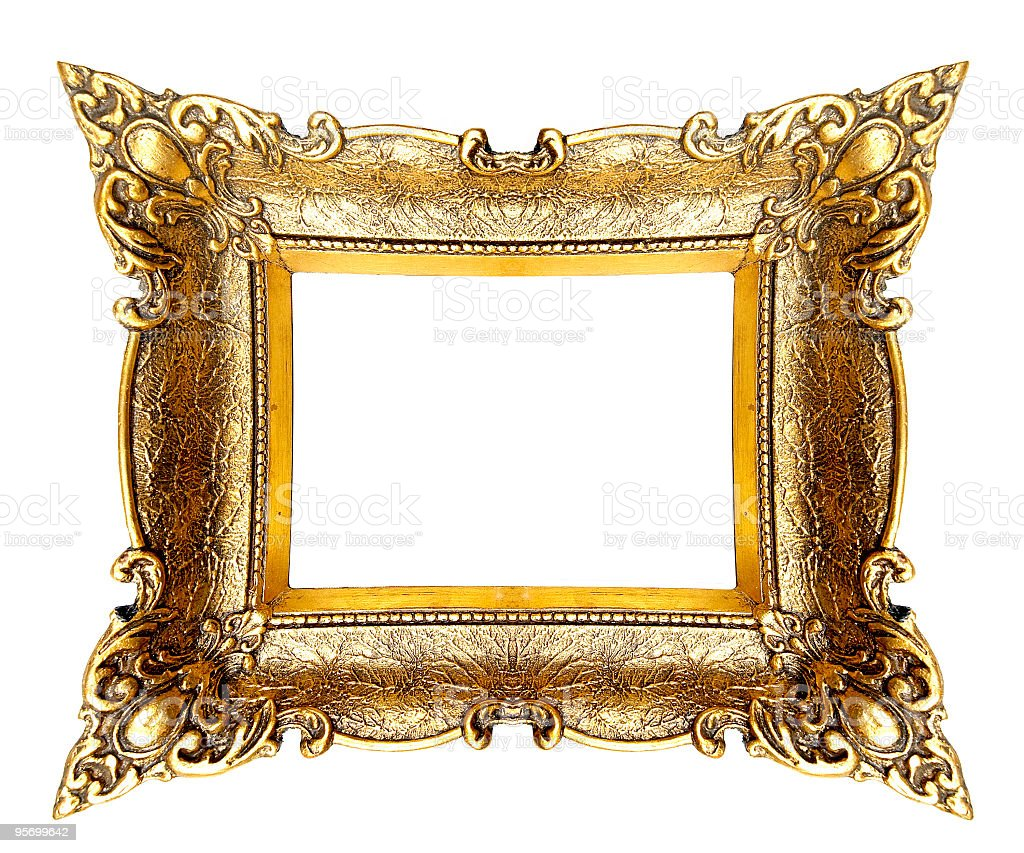 Wierd Picture Frame royalty-free stock photo