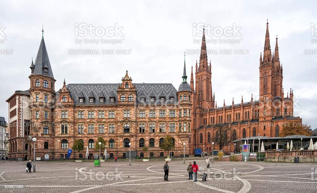 Wiesbaden stock photo