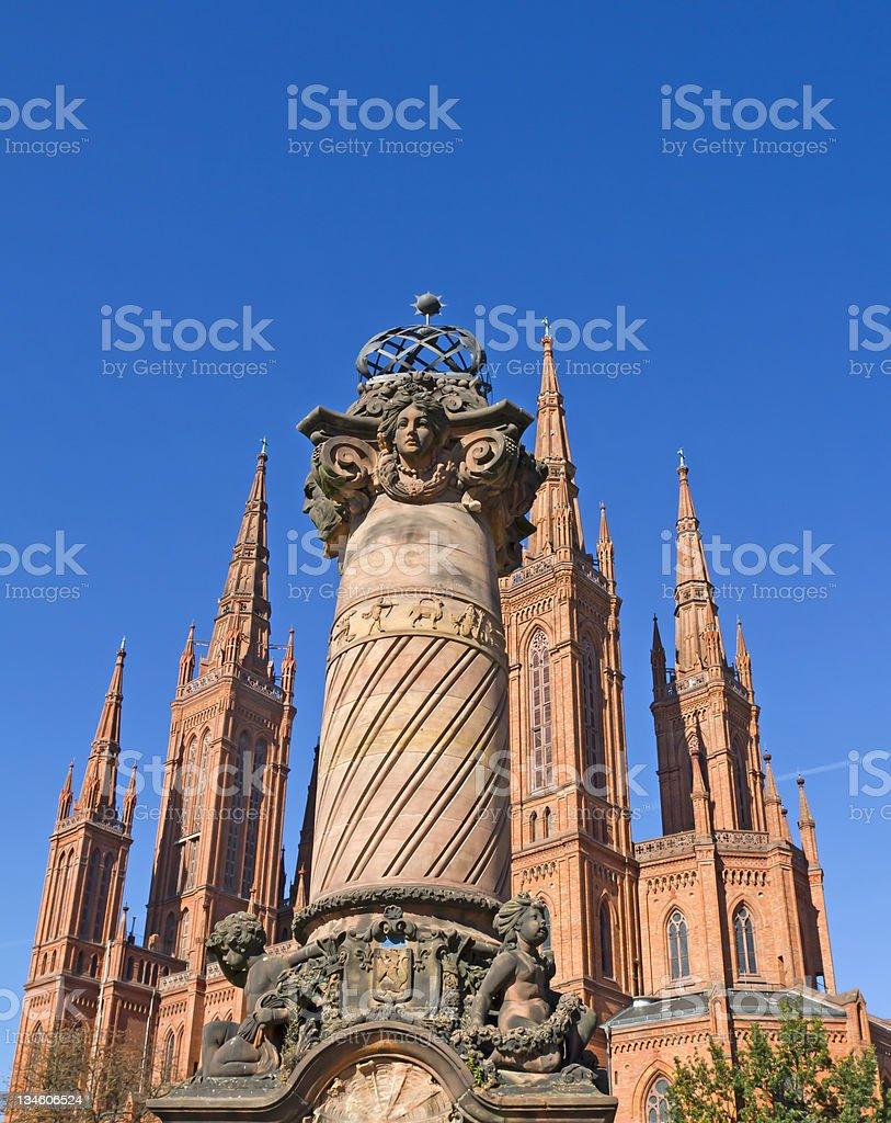 Wiesbaden \;;タワーズ ロイヤリティフリーストックフォト