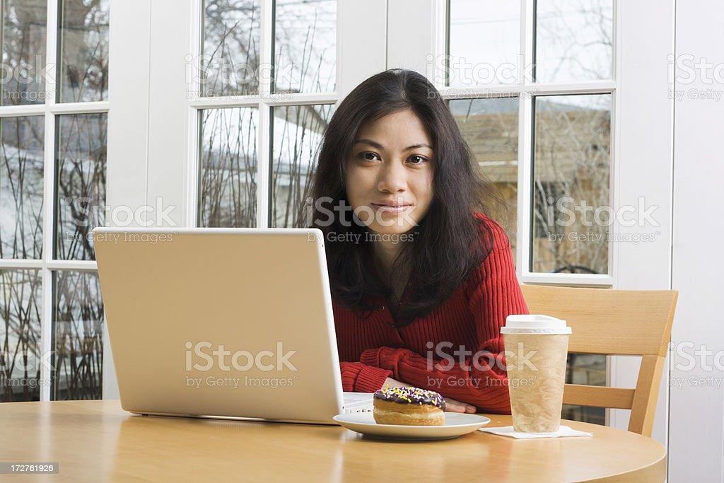 WiFi Cafe royalty-free stock photo