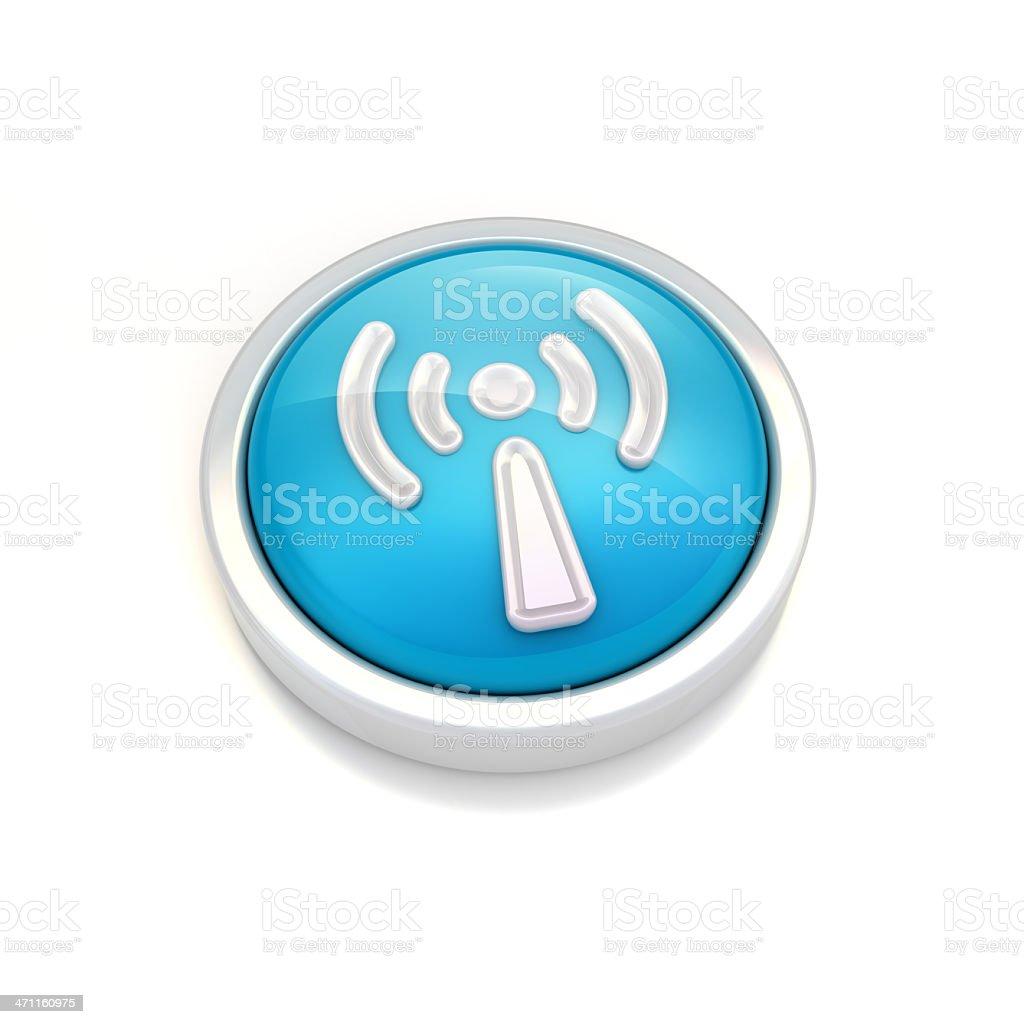 wifi circular icon royalty-free stock photo