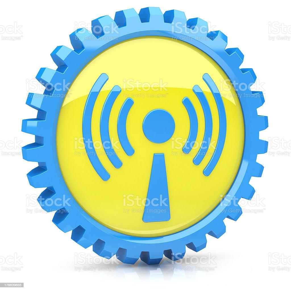 Wi-Fi icon royalty-free stock photo