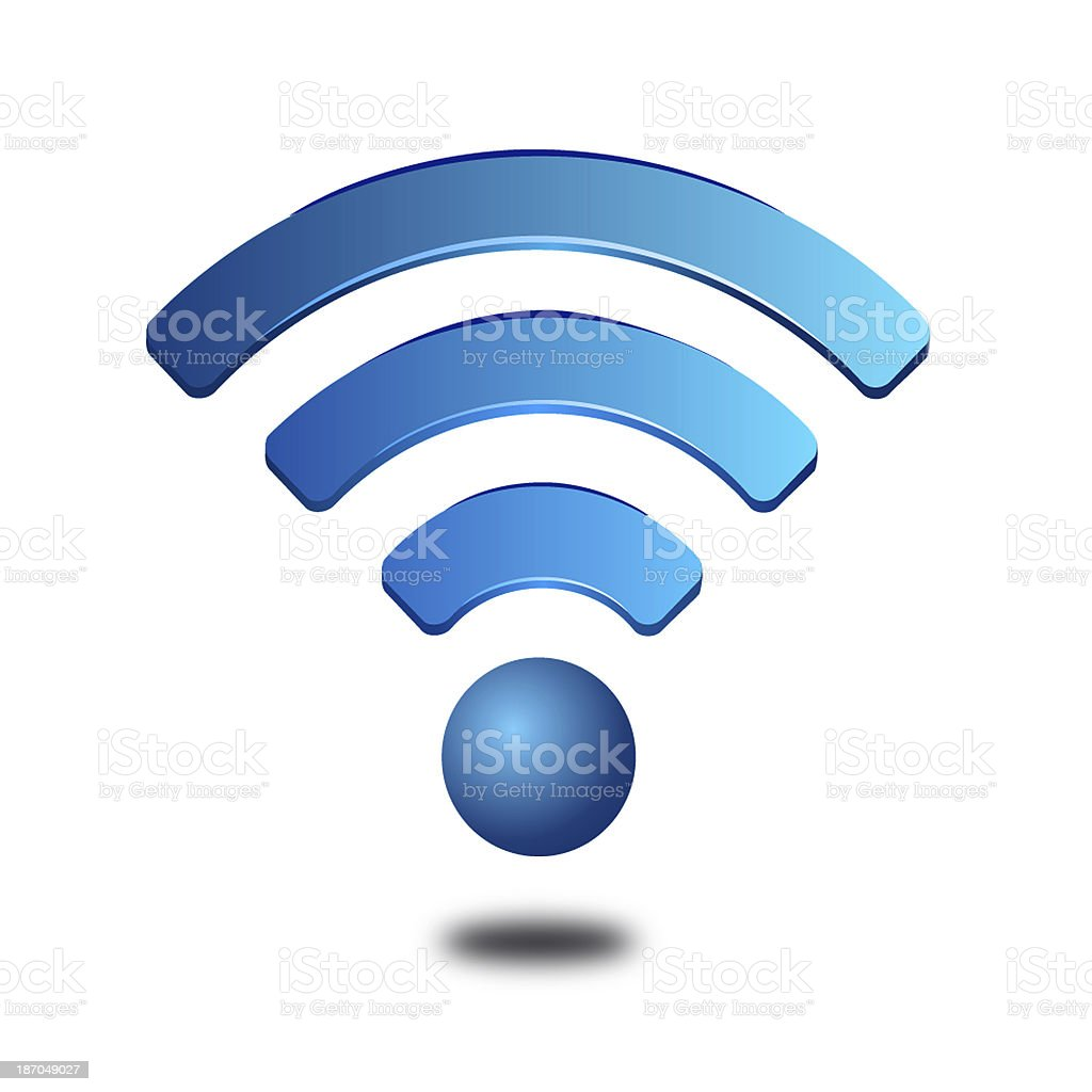 wifi icon stock photo