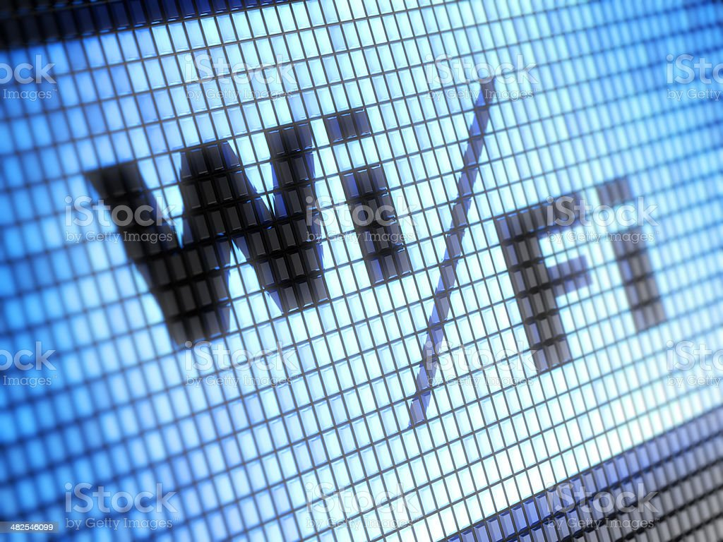 Wi-fi royalty-free stock photo