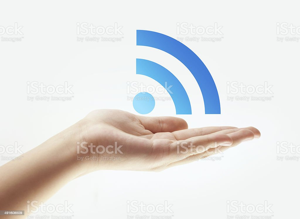 wifi royalty-free stock photo