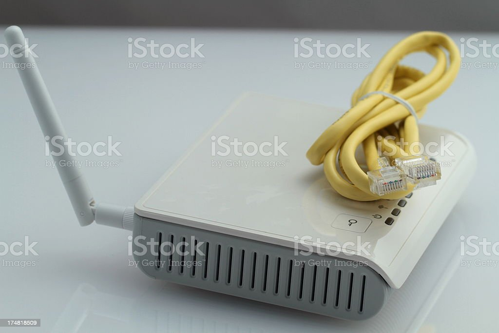 wifi router royalty-free stock photo