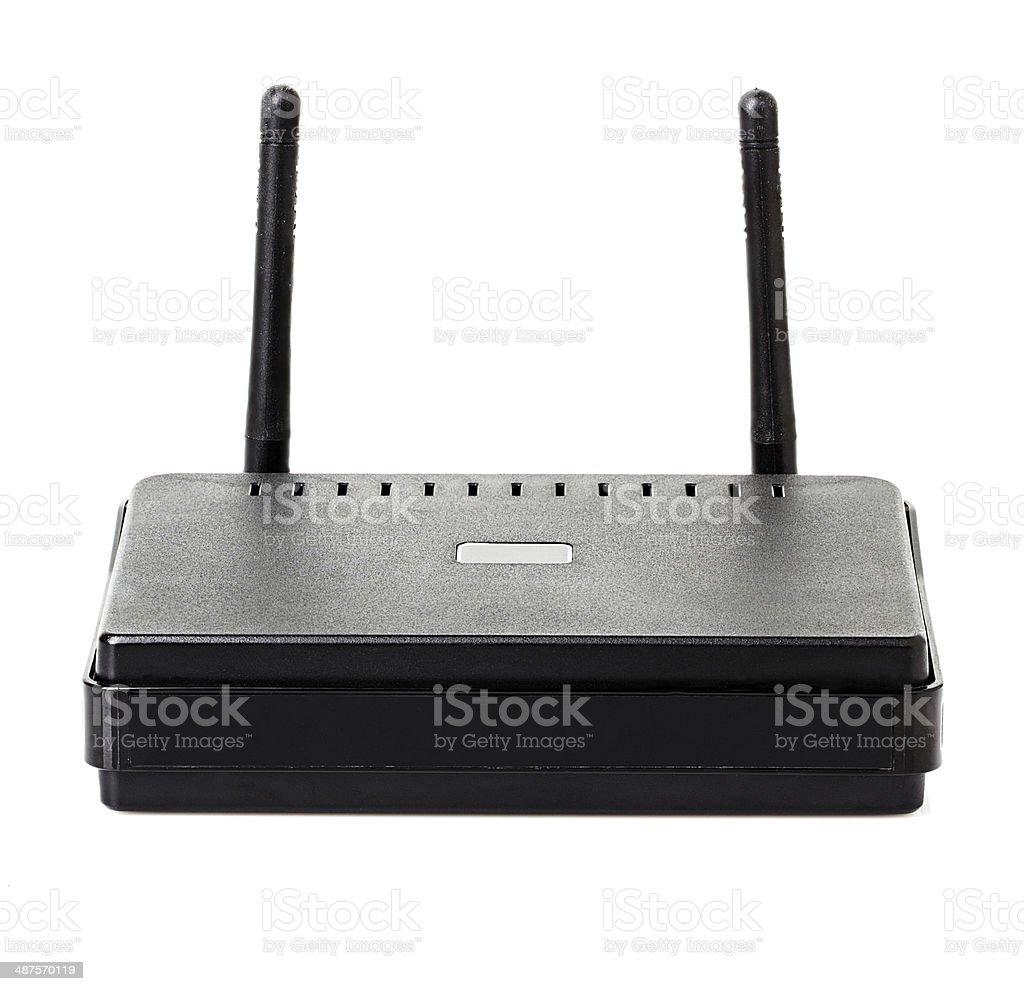 Wi-fi router stock photo