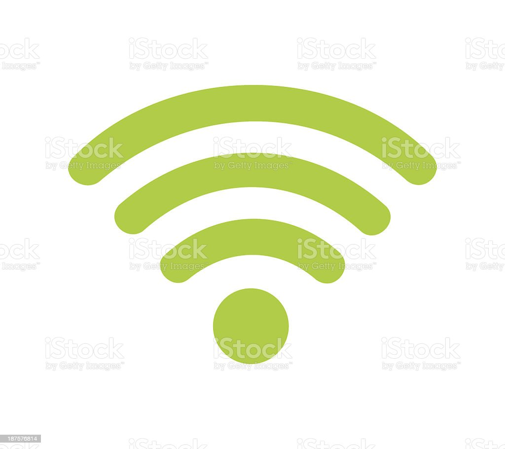Wifi Sign stock photo
