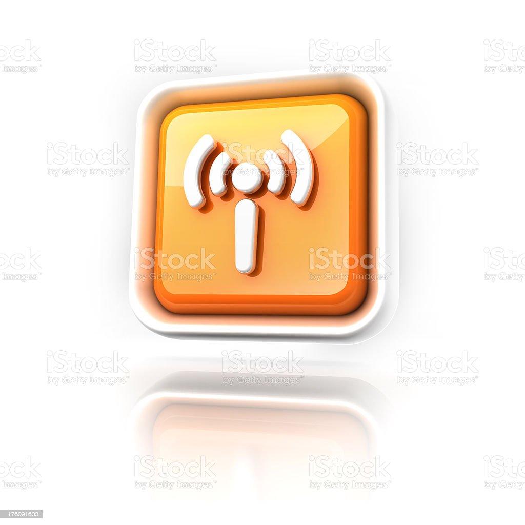 wifi spot icon royalty-free stock photo