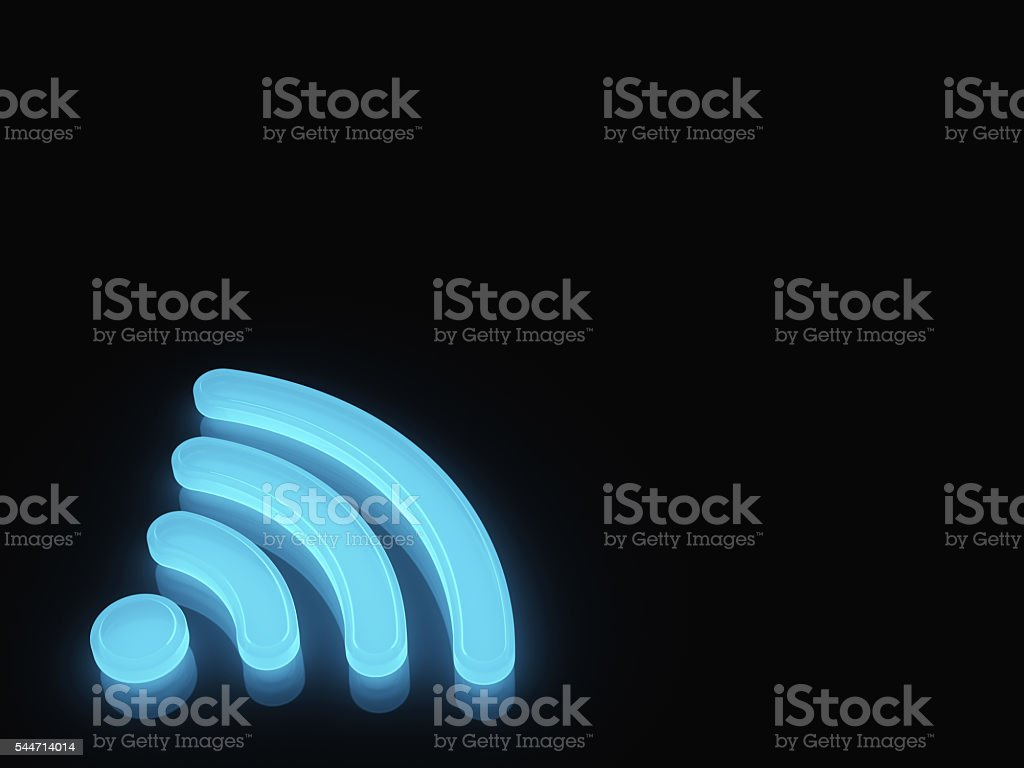 WiFi Symbol stock photo