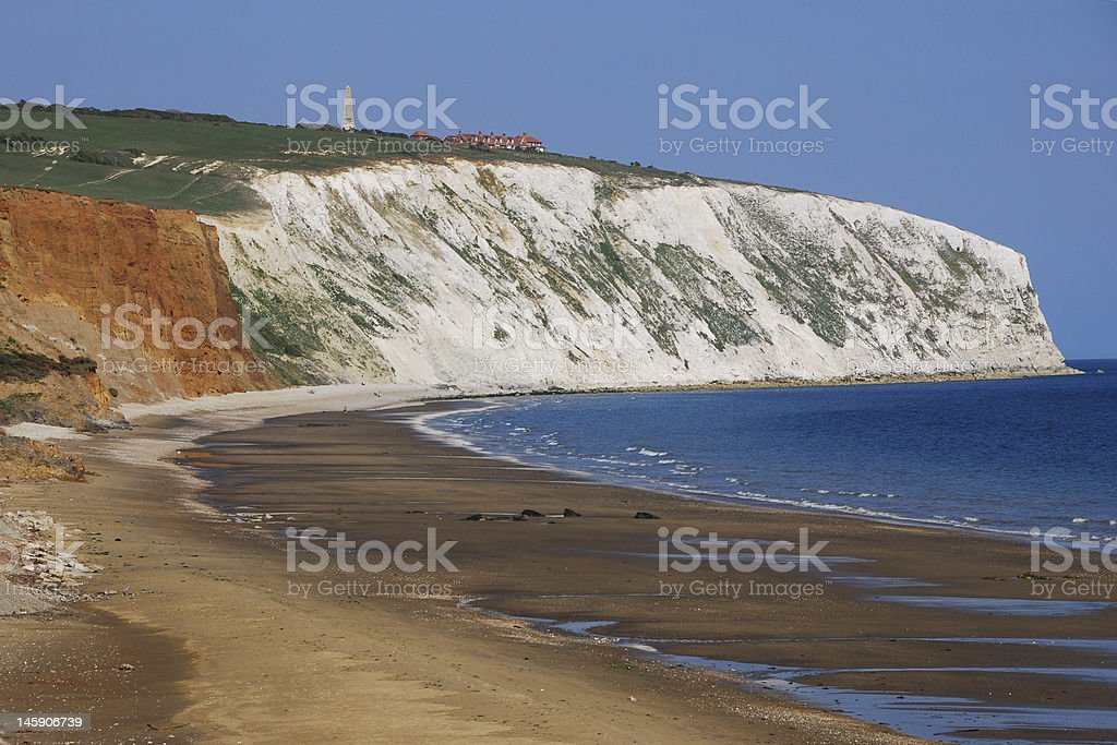Wight Cliff stock photo