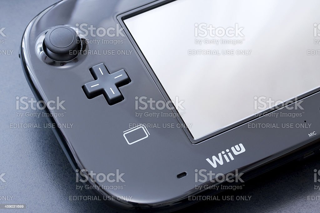 Wii U gamepad controller royalty-free stock photo