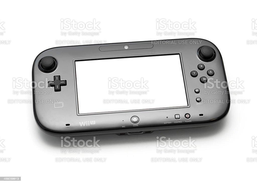 Wii U GamePad royalty-free stock photo