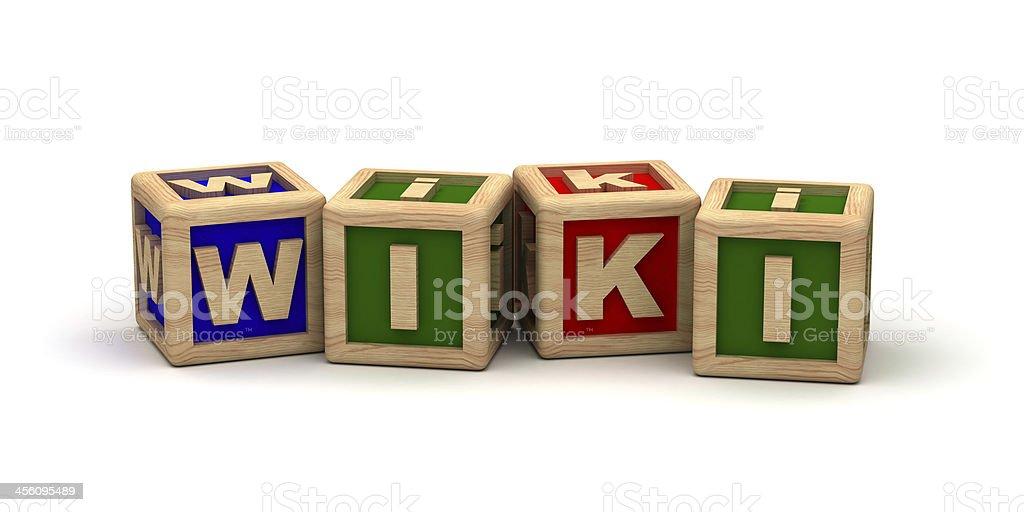 Wiki stock photo