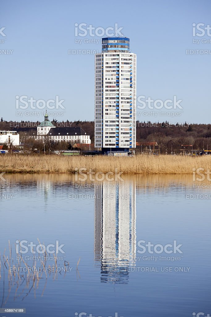Wiking tower, Schleswig, Germany stock photo