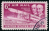 Wilbur And Orville Wright Stamp