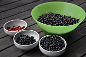 Wild berries from Swedish forest