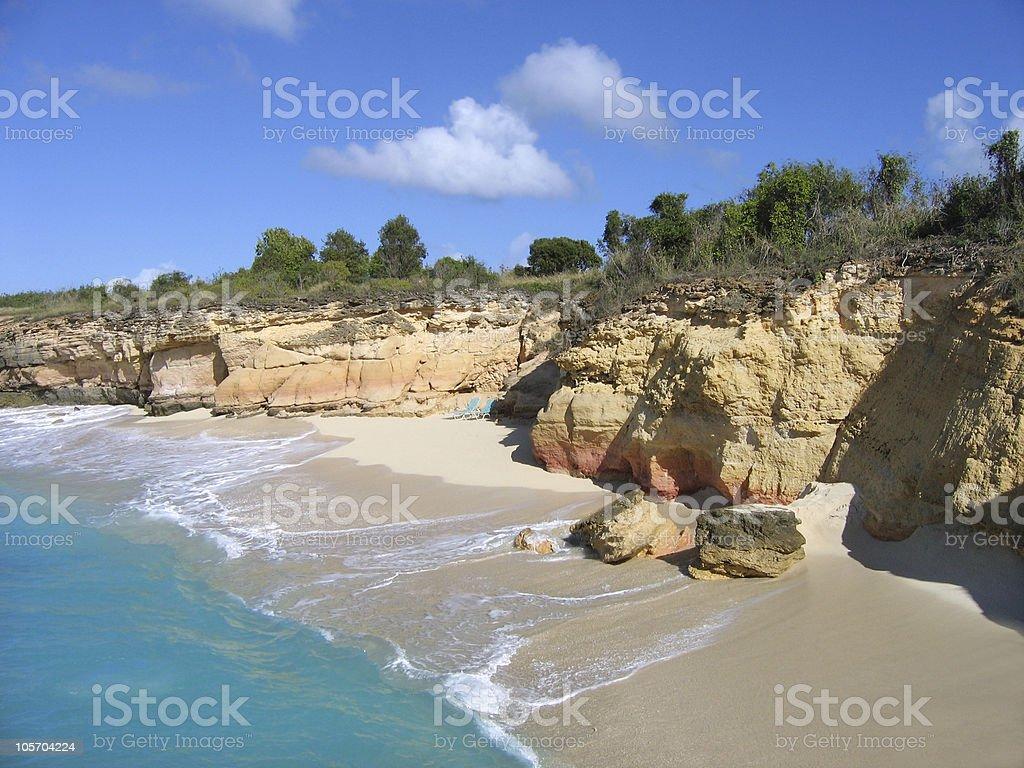 wild cliff stock photo