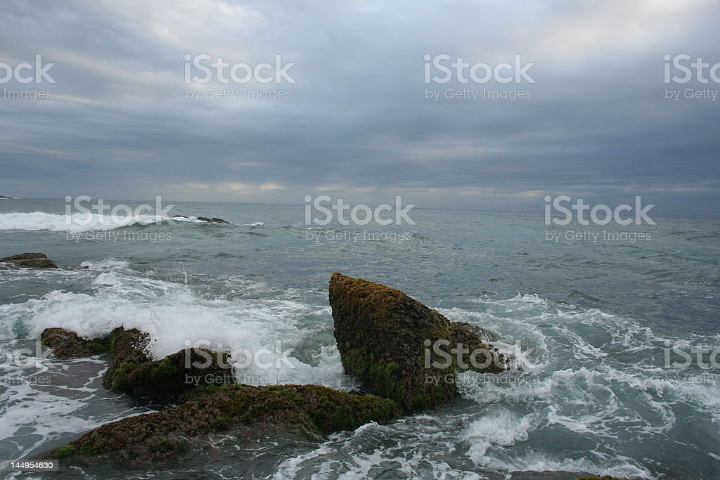 Wild Coast royalty-free stock photo