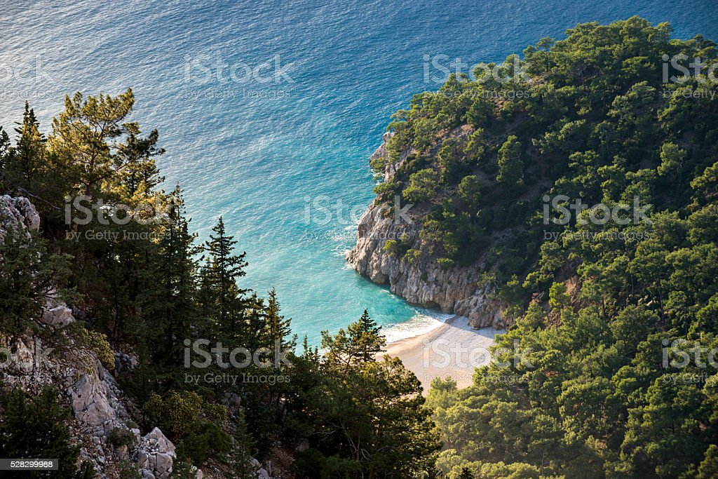 wild coast stock photo