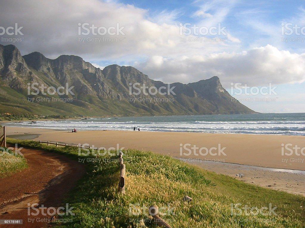 wild coast stock photo
