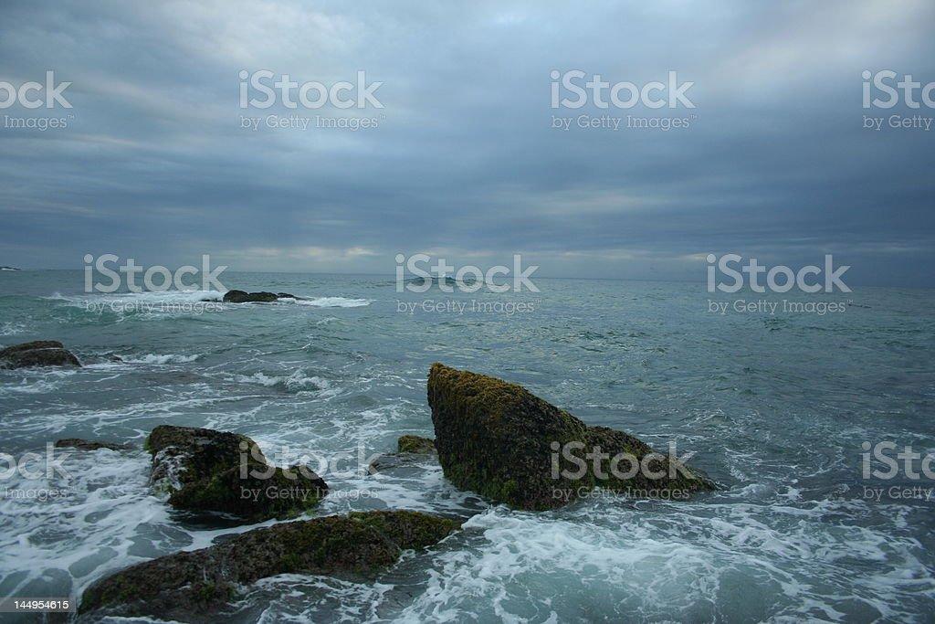 Wild Coast South Africa stock photo