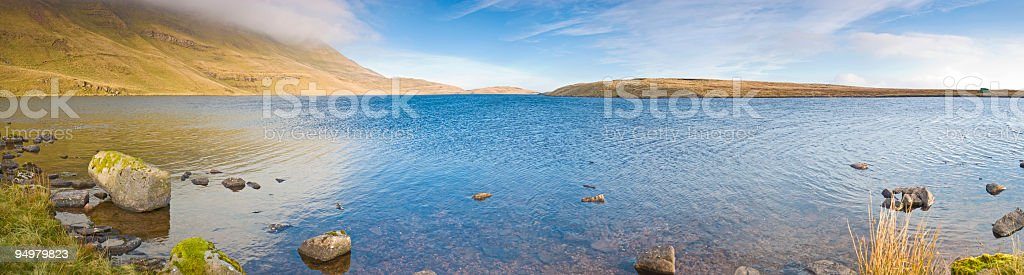 Wild country, tranquil shore royalty-free stock photo