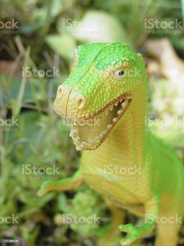 Wild Dinosaur royalty-free stock photo