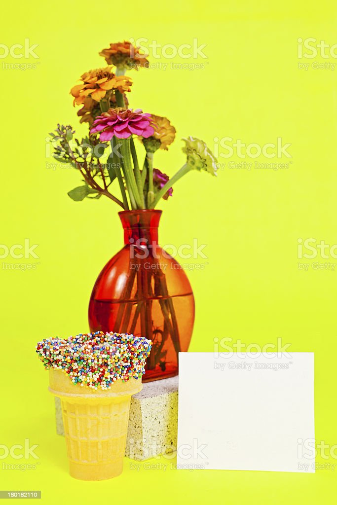 Wild Flower Bouquet royalty-free stock photo