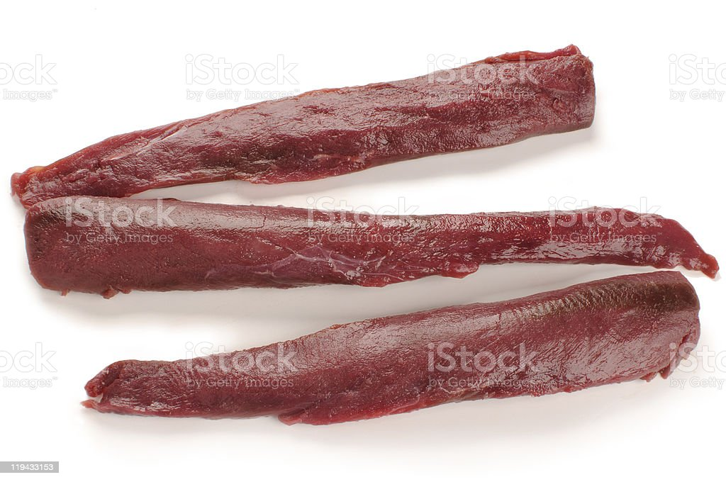 wild hare fillets stock photo