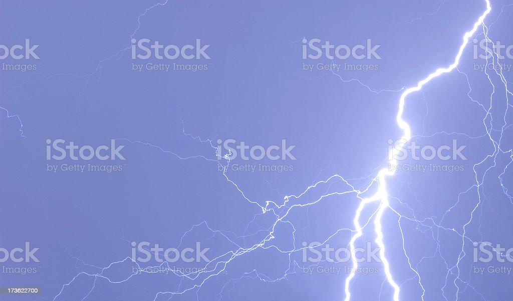 Wild Lightening stock photo