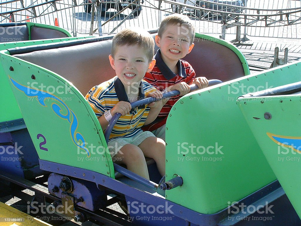 Wild Ride royalty-free stock photo