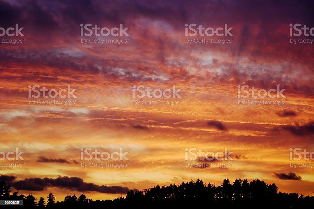 Wild Sky royalty-free stock photo