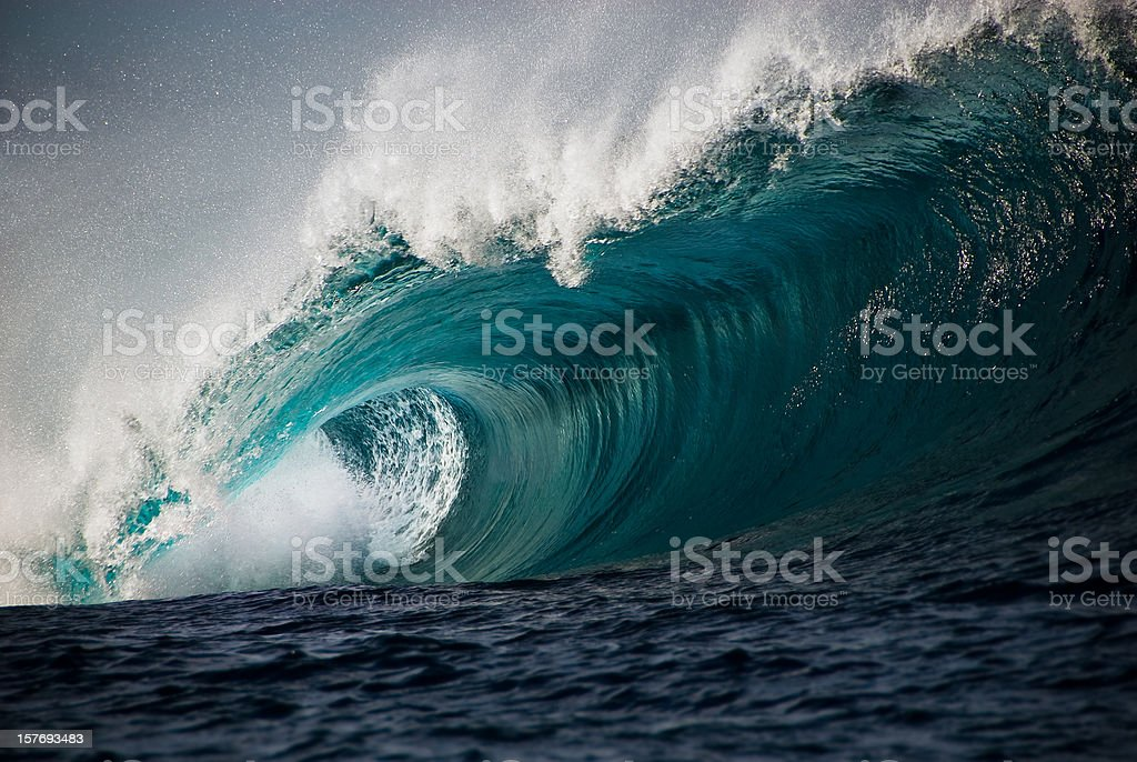 Wild Surf royalty-free stock photo
