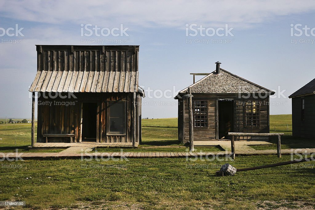 Wild west in South Dakota, USA royalty-free stock photo