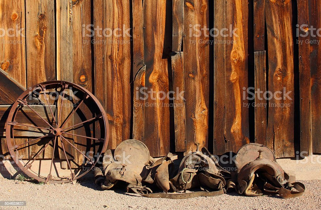 Wild West stock photo