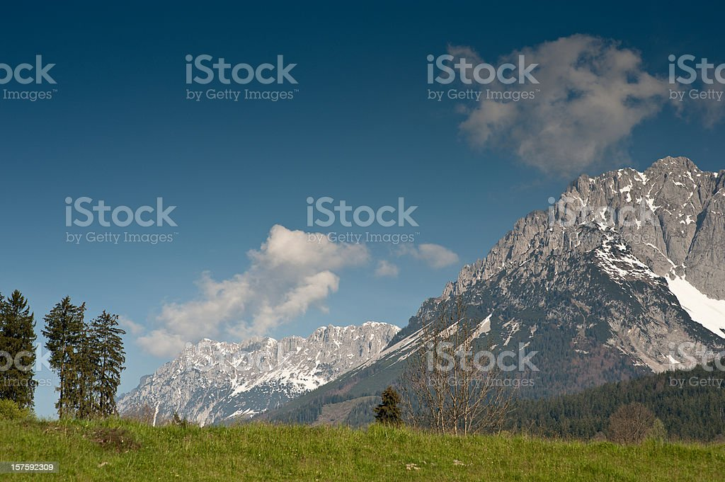 Wilder Kaiser Austria stock photo
