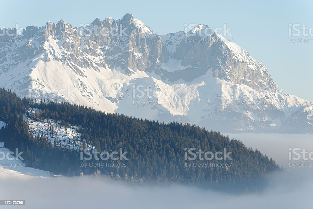 wilder kaiser austria tirol stock photo