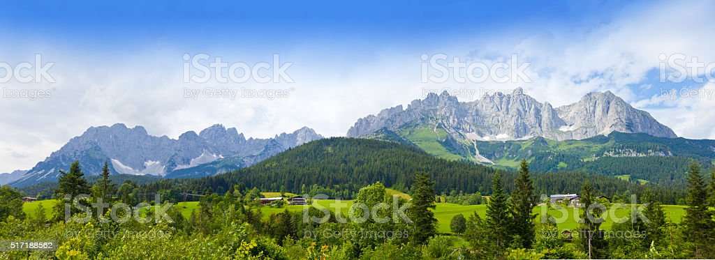 Wilder Kaiser, Austria, Tirol stock photo