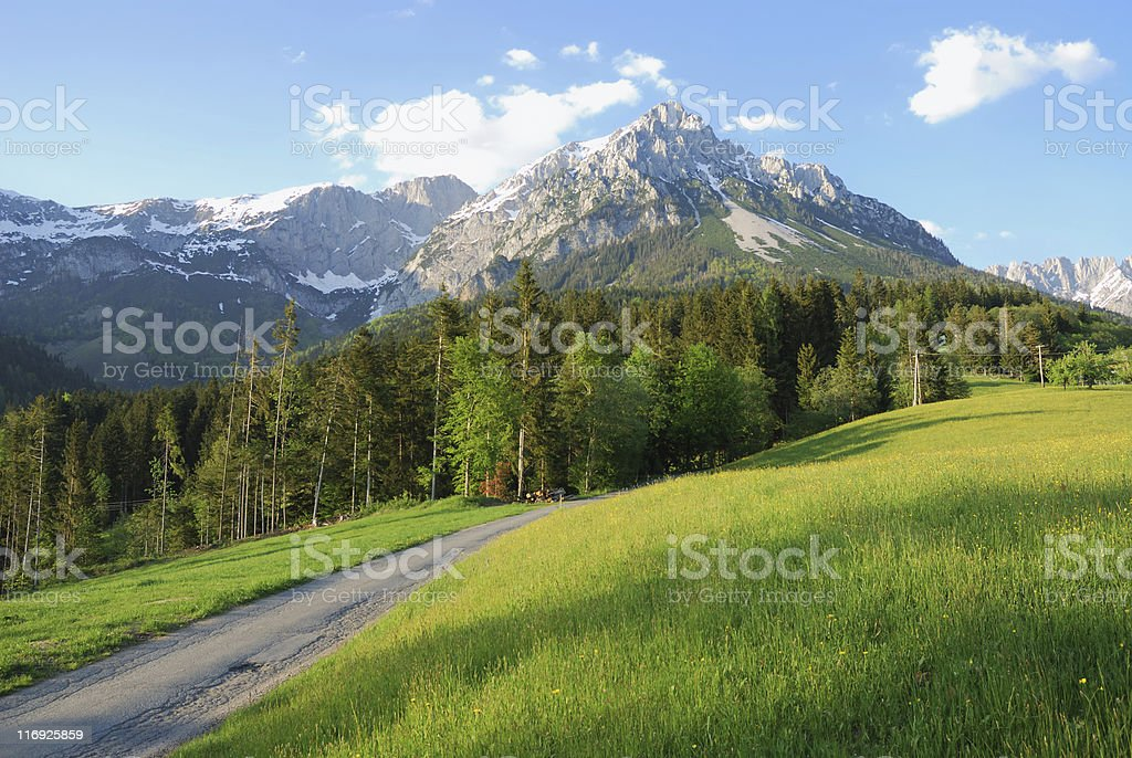 Wilder Kaiser stock photo