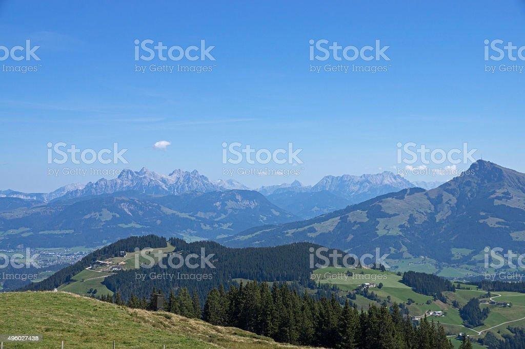 Wilder Kaiser, Tyrol, Austria stock photo