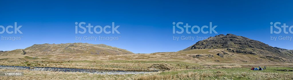Wilderness Camping royalty-free stock photo