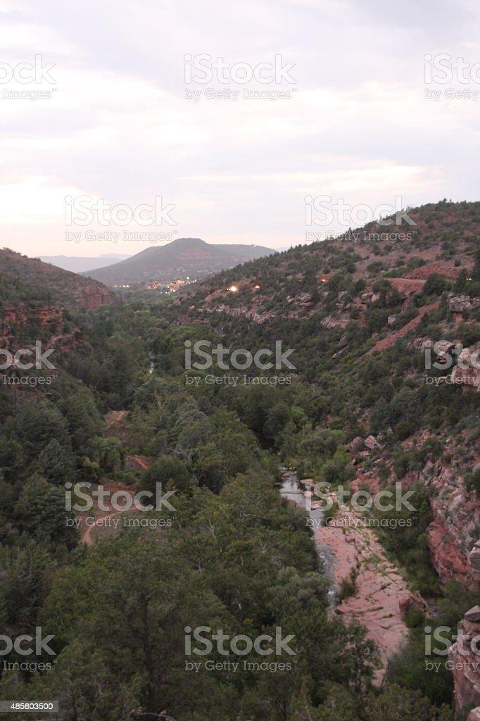 Área silvestre de West en Sedona, Arizona foto de stock libre de derechos