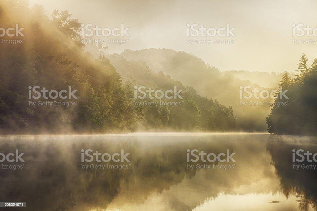 Wilderness Lake stock photo