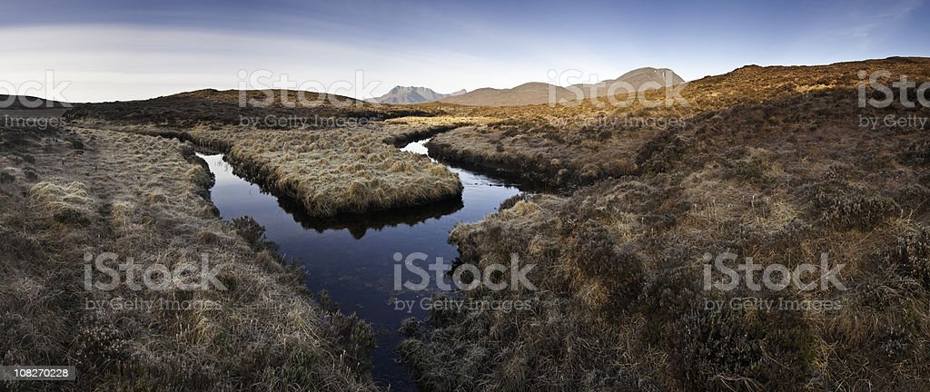 XXXL Wilderness reflections stock photo