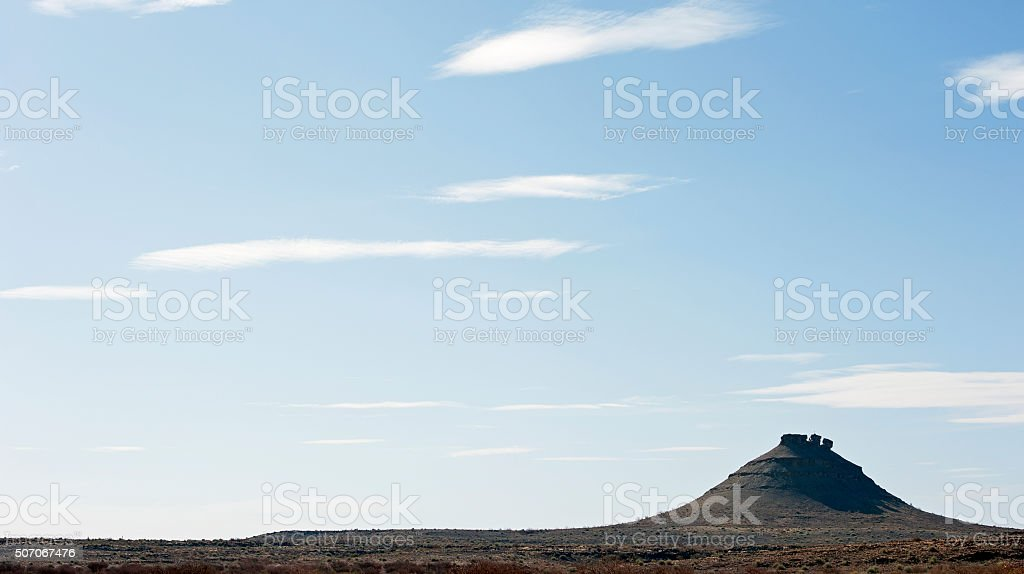 Wilderness relief, Fish River Canyon, Namibia, Africa stock photo