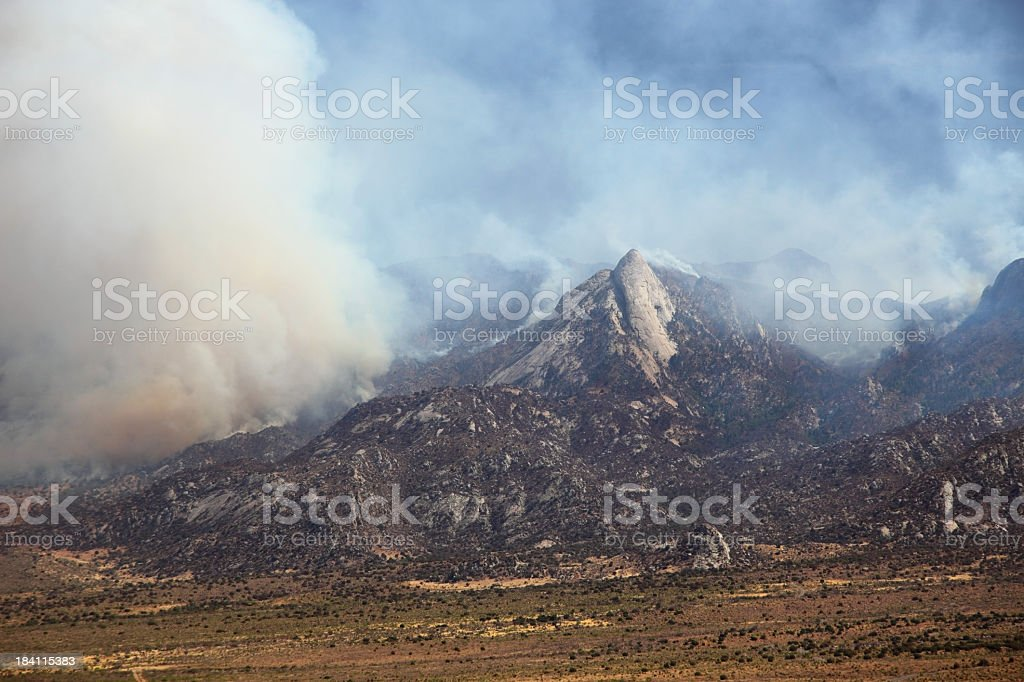 Wildfires royalty-free stock photo