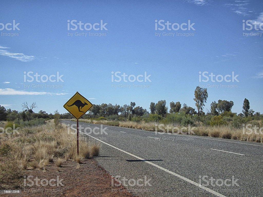 Wildlife crossing stock photo