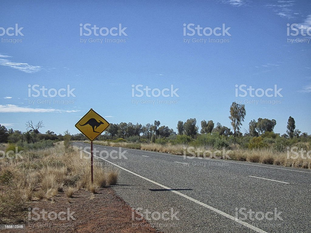 Wildlife crossing stock photo